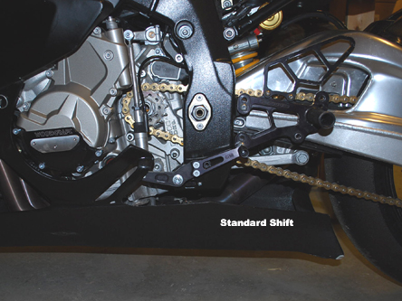 Woodcraft BMW S1000RR 10+ Rearset Kit- Race Only