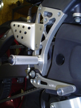 Woodcraft Buell XB9/12 Complete Rearsets Standard Shift