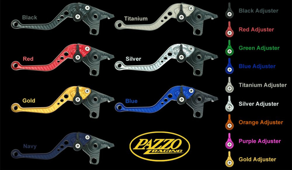 Pazzo Racing Individual Levers for BMW Motorcycles