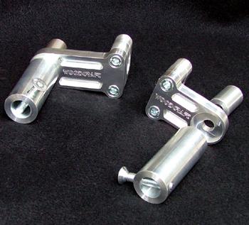 Woodcraft Ducati 848/1098/1198 Frame Slider Kit