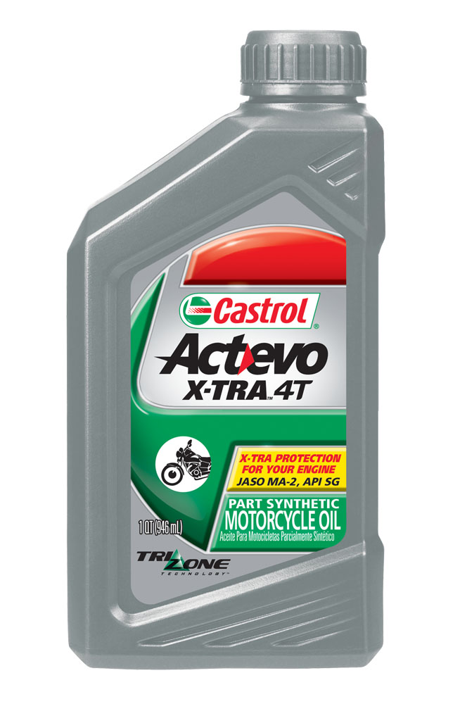 Castrol Actevo X- tra Synthetic Blend Motor Oil 1 Gal