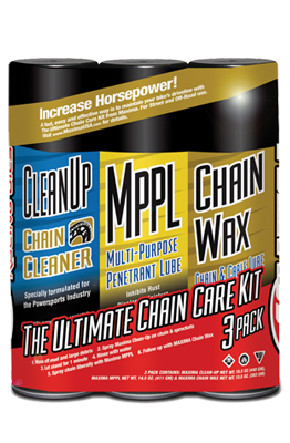 Maxima Chain Wax Chain Care Kit