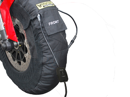 Woodcraft Dual Temp Gen II Tire Warmers w/Soft carry case