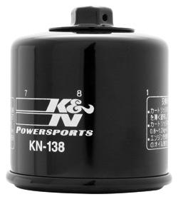 K&N High Performance Oil Filter KN-138