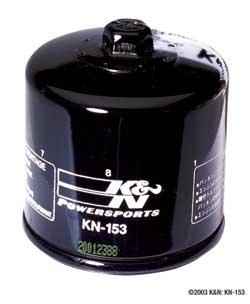 K&N High Performance Oil Filter KN-153