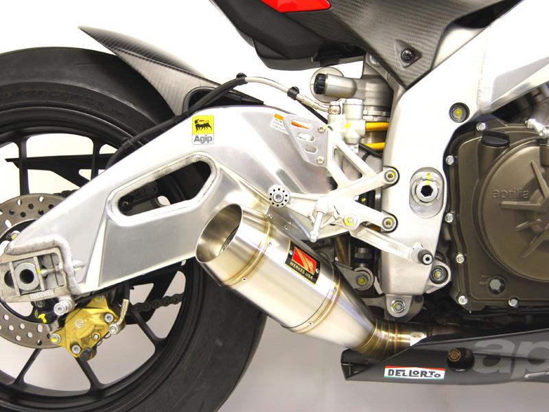 Competition Werkes Slip-On Exhaust 10-12 RSV4