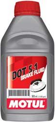Motul DOT 5.1 Brake Fluid 1/2 lt