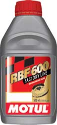 Motul RBF 600 Factory Line Brake Fluid 1/2 lt