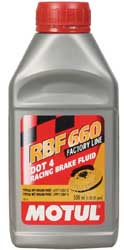 Motul RBF 660 Factory Line Brake Fluid 1/2 lt