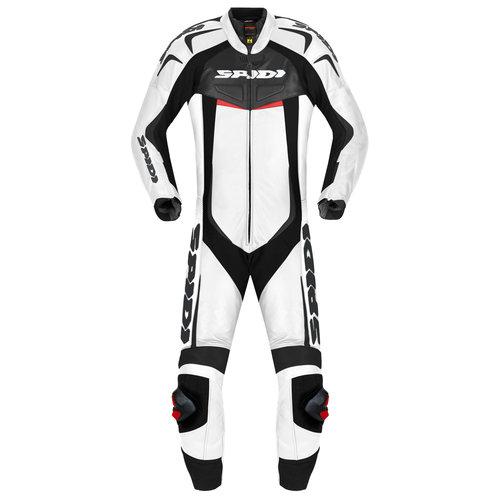 Spidi Leather Reset 1 Piece Suit White
