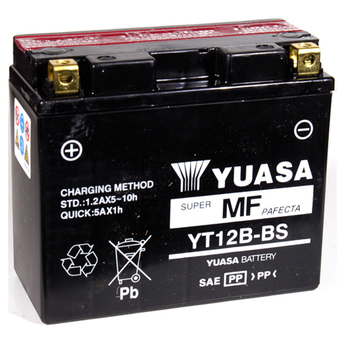 Yuasa Maintenance Free VRLA 12V Battery - YT12B-BS