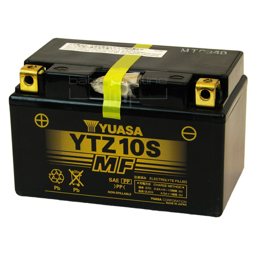 Yuasa Maintenance Free 12V Battery - YTZ10S