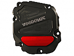 Woodcraft Kawasaki ZX10R 11+ RHS Ignition Trigger Cover Assembly, Black Anodized, W/Choice of Skid Plate
