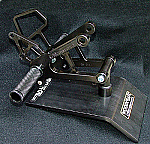 Woodcraft Kawasaki ZX6R 07-08 Complete Rearset Kit W/Shift & Brake Pedals