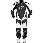 Alpinestars GP Pro 1 Piece Suit Black / White