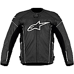 Alpinestars TZ-1 Reload Perforated Leather Jacket Black / White