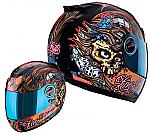 Scorpion EXO-750 Helmet Livefast
