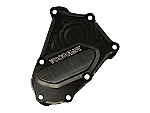 Woodcraft BMW S1000RR 10+ RHS Crankshaft Cover Assbly Black W/Skid Plate Kit Choice (337H) Uses Liquid Gasket