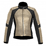 Alpinestars Vika Ladies Leather Jacket Champagne