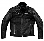 Spidi JK Leather Jacket Black