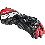 Spidi Carbo Track Gloves Black / Red