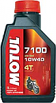 Motul 7100 4T Synthetic Motor Oil 1 Lt