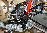 Woodcraft Ducati Hypermotard Complete Rearset Assembly