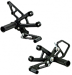 Woodcraft Honda CBR1000RR 08-11 Complete Rearset Kit W/Shift & Brake Pedals