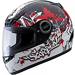 Scorpion EXO-400 Helmet Urban Destroyer Red