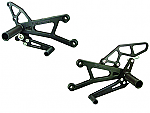 Woodcraft Yamaha YZF-R1 07-08 Std Shift, Complete Rearset Kit W/Shift & Brake Pedals