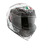 AGV Horizon Absolute White Gunmetal