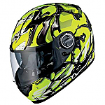 Scorpion EXO-500 Helmet Oil Neon