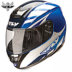 Fly Racing Paradigm Helmet Blue / White