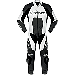 Alpinestars Carver 1 Piece Suit Black / White