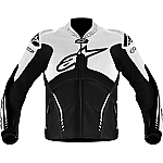 Alpinestars Atem Perforated Leather Jacket Black / White