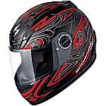 Scorpion EXO-400 Helmet Synergy Red