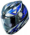Scorpion EXO-1100 Helmet Street Demon Blue