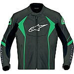 Alpinestars GP-R Leather Jacket Black / Green