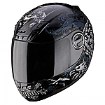 Scorpion EXO-400 Helmet Rapture Black