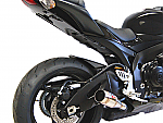 Competition Werkes Slip-On Exhaust 08-10 GSXR600, 08-10 GSXR750