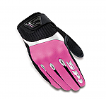 Spidi G-Flash Tex Ladies Gloves Pink / Black