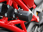 Woodcraft Ducati Monster 696/796/1100 Frame Slider Kit - Standard Puck