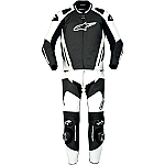 Alpinestars GP Pro 2 Piece Suit Black / White