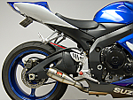 Competition Werkes Slip-On Exhaust 06-07 GSXR600, 06-07 GSXR750