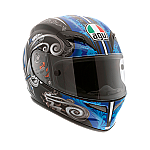 AGV Grid Stigma Black Blue