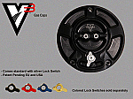 Vortex V3 Gas Cap GC520K