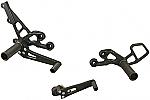 Woodcraft Suzuki GSXR600/750 06-10 Complete Rearset Kit W/Shift & Brake Pedals