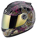Scorpion EXO-750 Helmet Kingdom Black/Gold