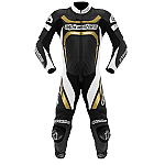 Alpinestars Motegi 1 Piece Suit Black / White / Gold