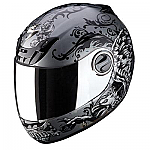 Scorpion EXO-400 Helmet Rapture Silver